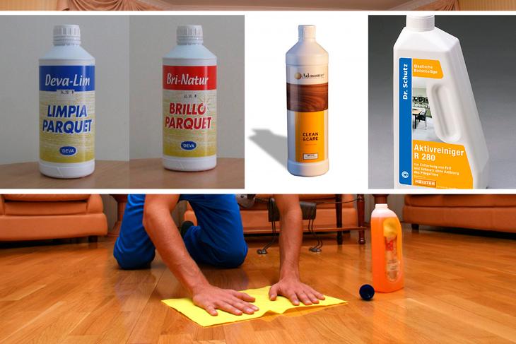 Productos para limpiar tarima materiales de construcci n - Como limpiar parquet flotante ...